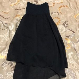 Mini High-Low Skirt